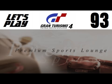 Let's Play Gran Turismo 4 - Part 93 - Extreme Events - Premium Sports Lounge