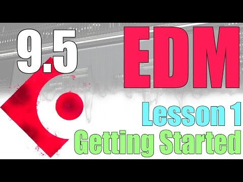 Cubase 9.5 Tutorial : Make An EDM Track : Lesson 1 Kick and Bass
