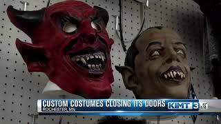 Costume store closing