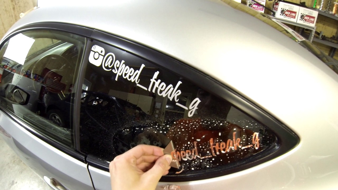 How To Remove A Vinyl Window Decal