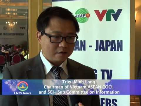 Lao NEWS on LNTV: ASEAN-Japan Young TV Producers meet to develop professional skills.13/8/2014