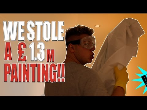 Thumbnail: We stole a £1.3million painting! PRANK!