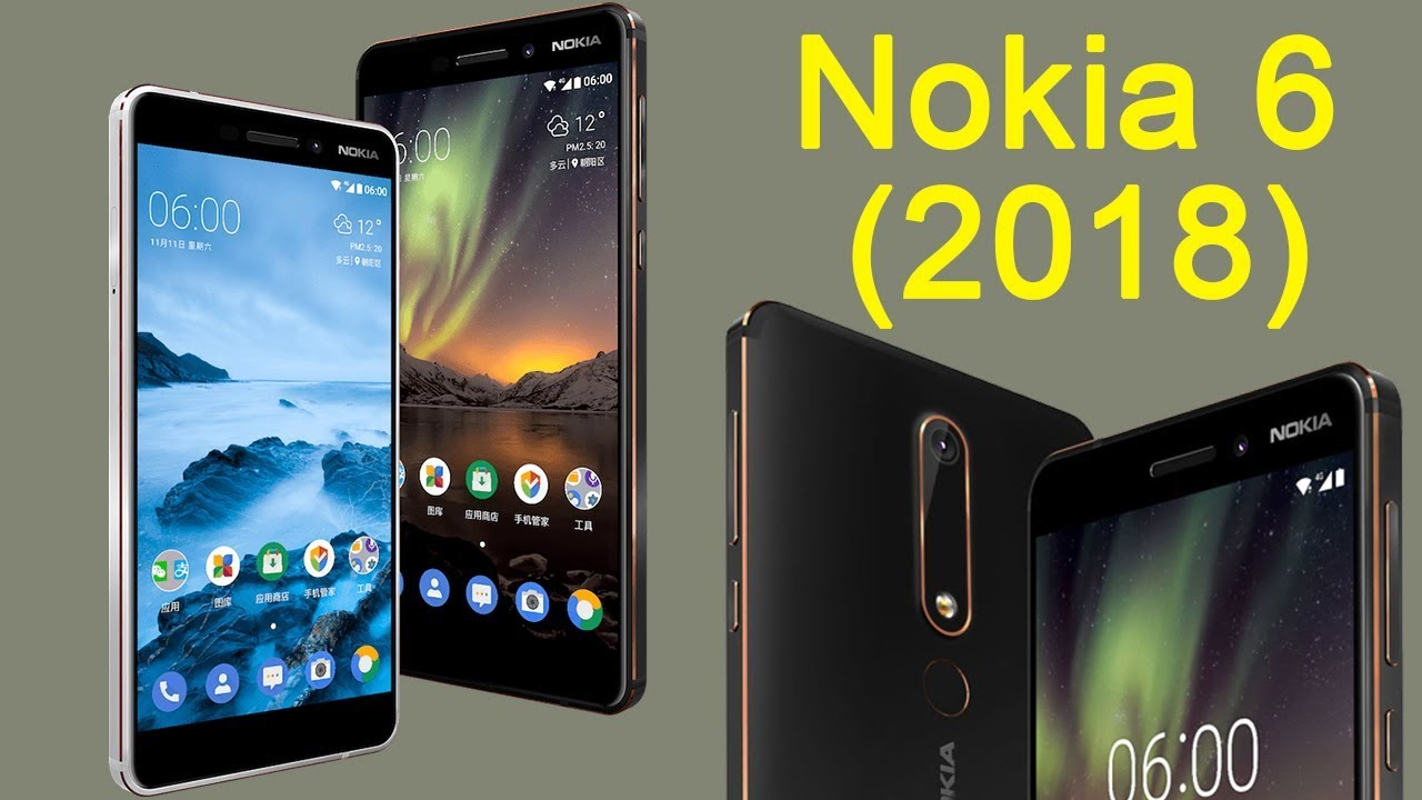 51bdffc221f Nokia 6 2018 launched  price