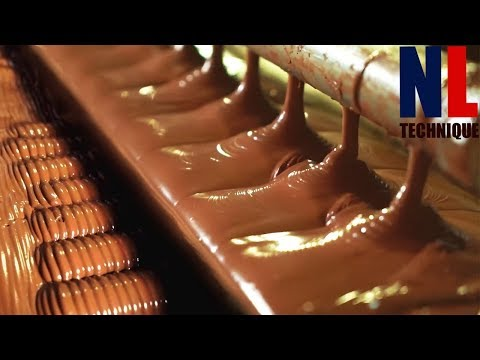 Yummy Chocolate Making Process with Modern Machines and Skillful People