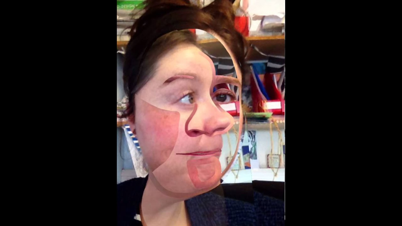 picasso face photo layering using brushes app youtube