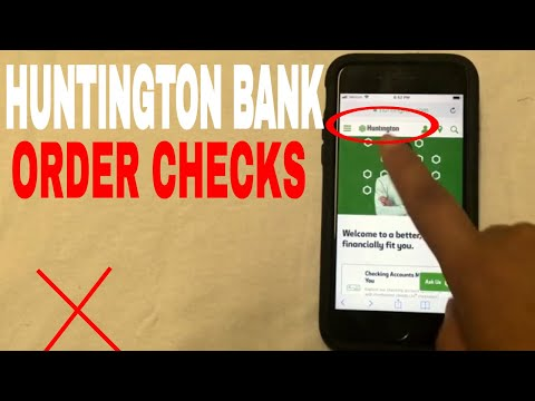 ✅  3 Ways To Order Huntington Bank Replacement Checks 🔴