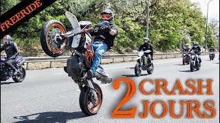 2 JOURS DE FOLIE, 2 CRASH FREERIDE A TOULOUSE 3.0