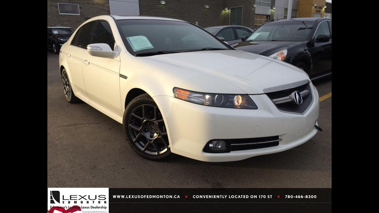Used White 2007 Acura Tl At Type S Review Whitecourt Alberta