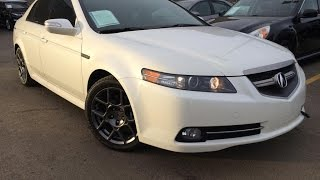 Used White 2007 Acura TL AT Type-S Review | Whitecourt Alberta