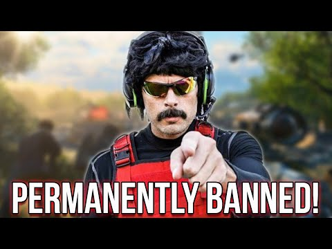 Why The Hell Did Dr Disrespect Get Permanently Banned?
