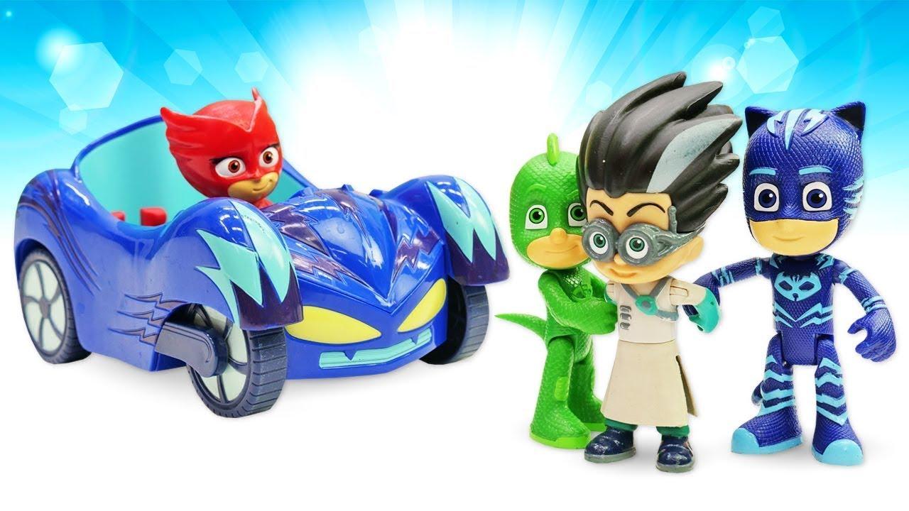 Герои в масках и Куклы ЛоЛ: игрушки из мультфильмов фотографируются! Ромео заколдовал фотоаппарат!