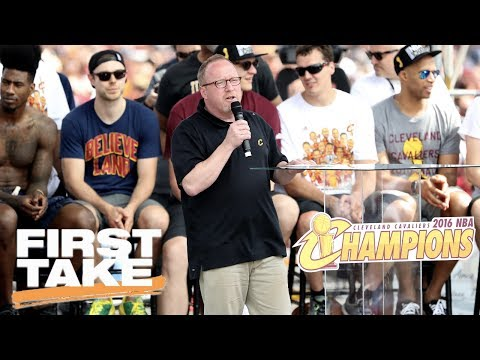 Cavaliers And GM David Griffin Part Ways After 3 Straight Finals Trips | First Take | June 20, 2017