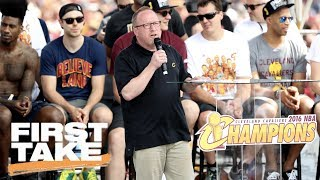 Cavaliers And GM David Griffin Part Ways After 3 Straight Finals Trips   First Take   June 20, 2017