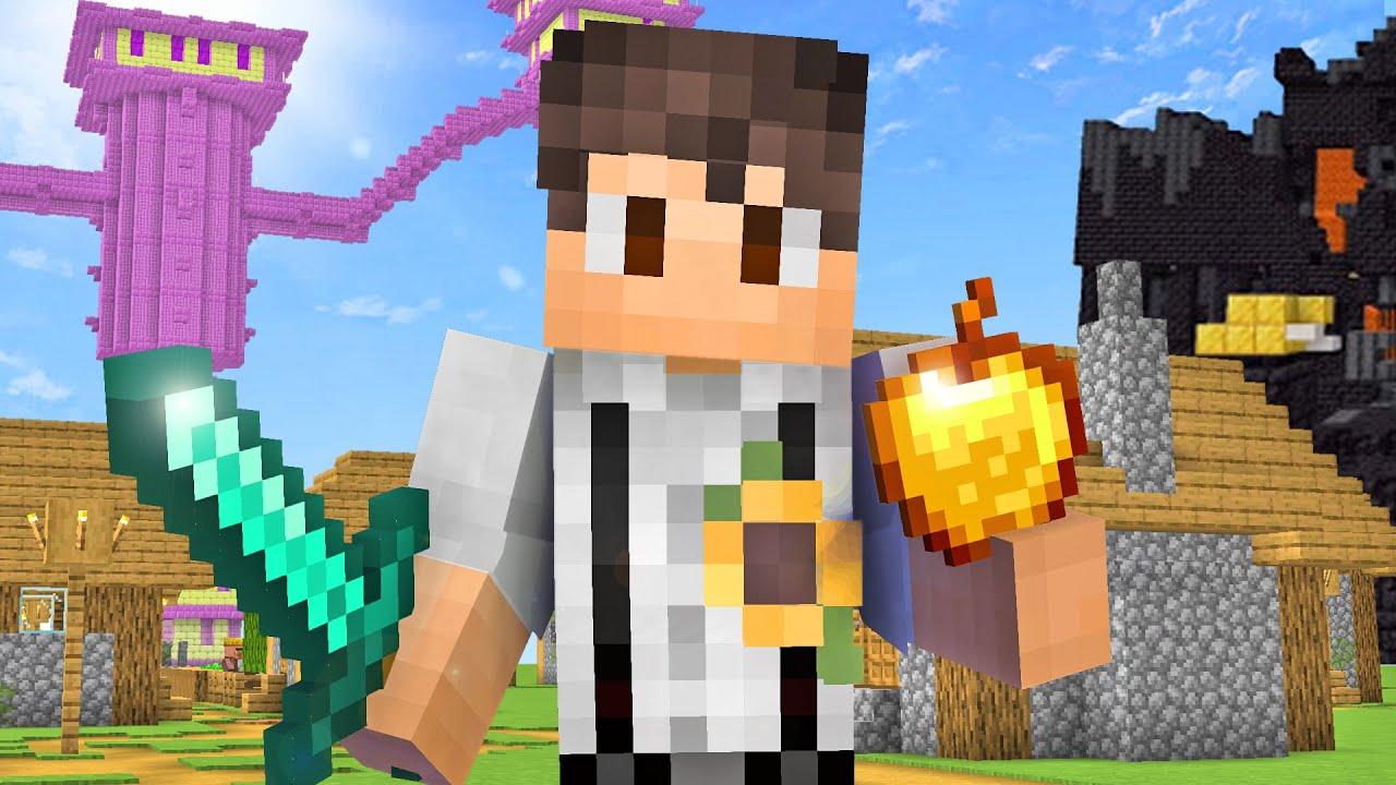 Minecraft, Aber Random Structures Spawnen Jede Minute