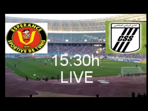 Esperance Sportive De Tunis Vs Club Sportif Sfaxien LIVE 07/05/32