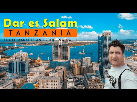 A full busy day in Dar es Salaam Tanzania (Africa)