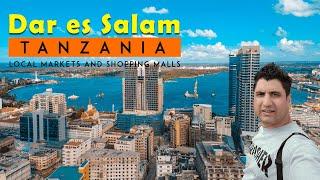 A full busy day in Dar es Salaam Tanzania Africa