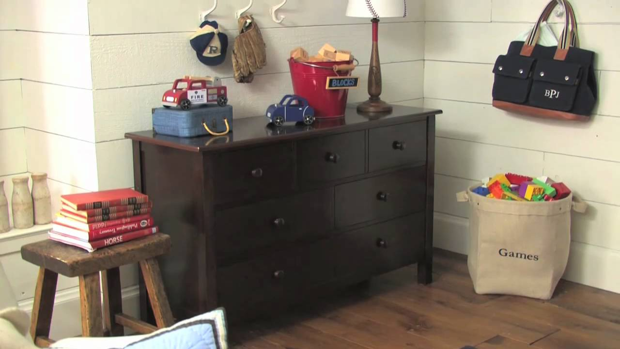 a26ba0b40587 Some Features of the Kendall Dresser and Changing Table Topper | Pottery  Barn Kids - YouTube