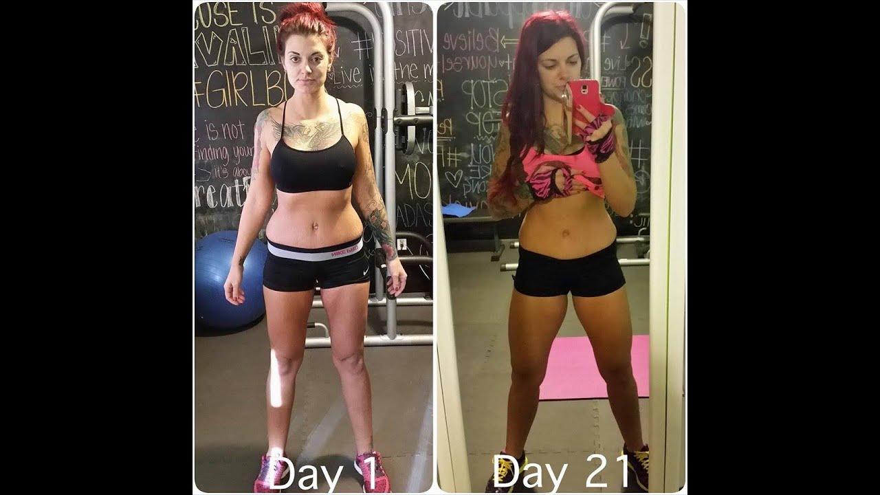 21 Day Fix Review - Before & After - YouTube