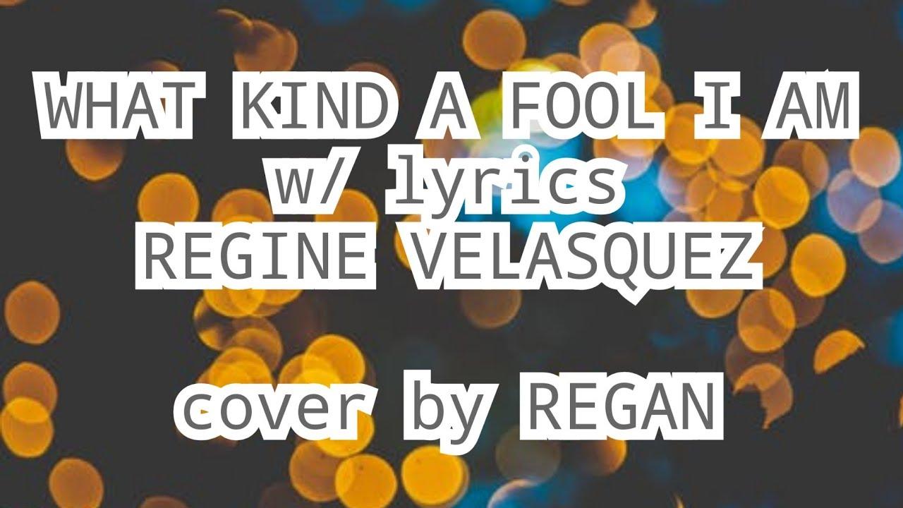 what a fool i am lyrics