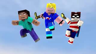 Top 10 Most Viewed Minecraft Animations (including Songs)