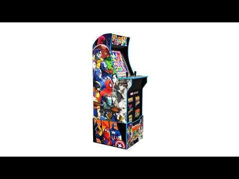 Marvel VS Capcom Arcade 1Up back at Best Buy. from Footie Laughs