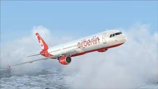 LET`S PLAY TOGETHER Flight Simulator X / Mit Georg und A321 nach München