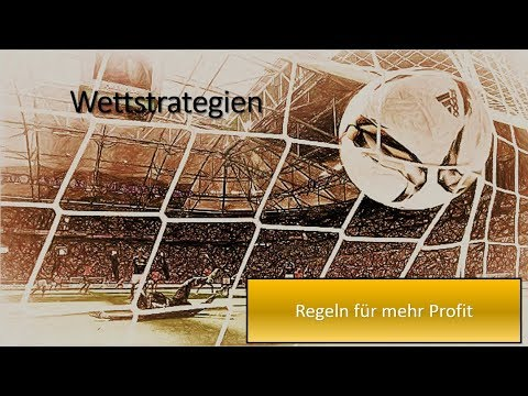 Sportwetten Strategien