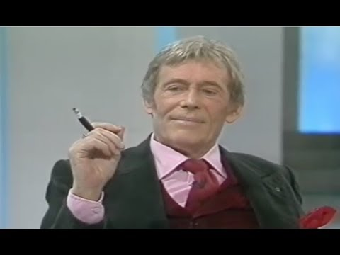 Peter O'Toole Interview & Scene From 'Jeffrey Bernard Is Unwell'
