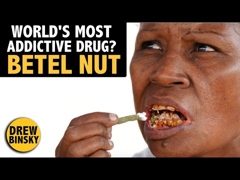 The World's Most Addictive Drug? (Betel Nut)