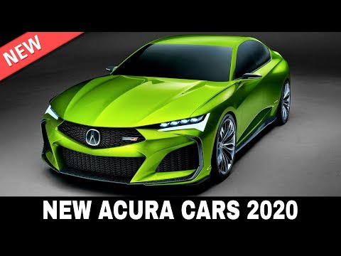 7 New Acura Cars Presented in the Upmarket Model Lineup of 2020