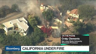How the California Wildfires Are Impacting the Bay Area