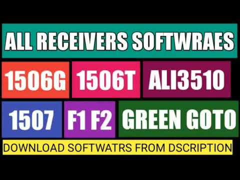Download All Receivers Softwares - Видео сообщество