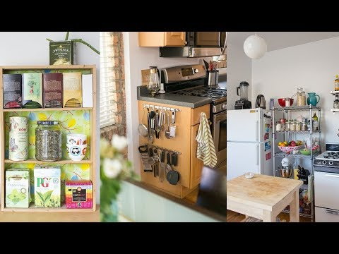 13 Small Kitchen Storage Organization Ideas