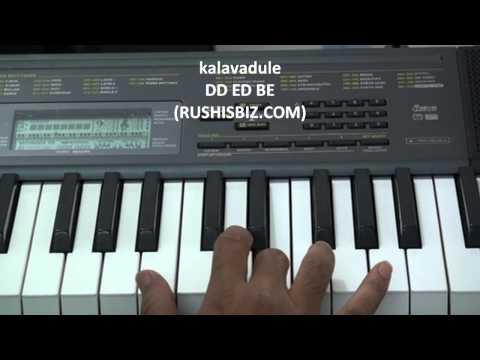 Anal Mele - Nidare Kala Ayinadi - Piano Notes - Tutorials - Full Song