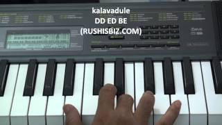 Anal Mele - Nidare Kala Ayinadi - Piano Notes - Tutorials - Full Song
