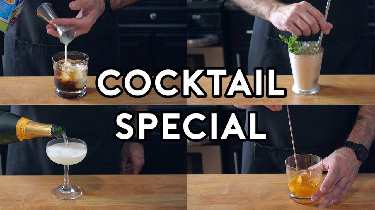 Binging With Babish Cocktail Special