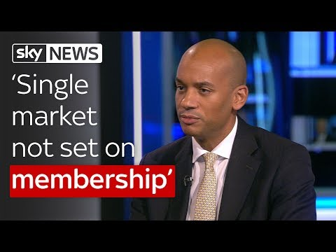 'You don't have to be part of the EU to be part of the single market'