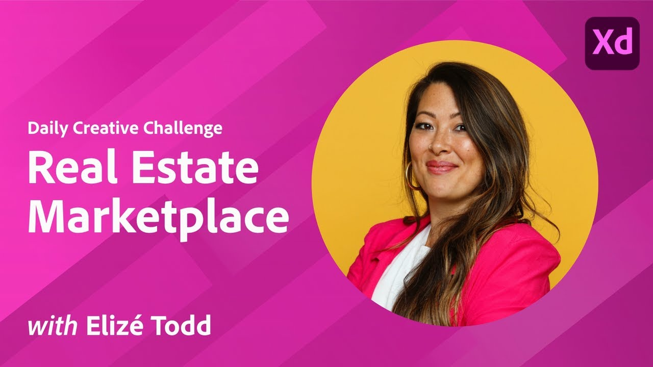 Creative Encore: Xd Daily Creative Challenge - Real Estate Marketplace