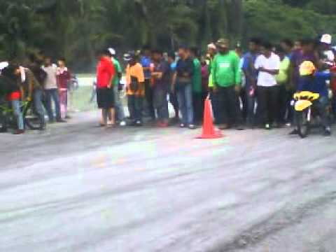 sprintest kg gajah final KMD kedah 4stroke vs open body 2 stroke