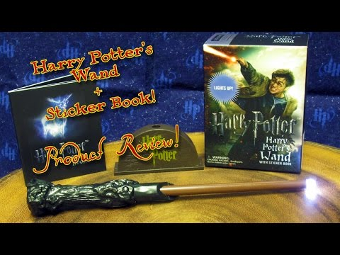 harry-potter's-wand-and-sticker-kit-(by-running-press)-product-review