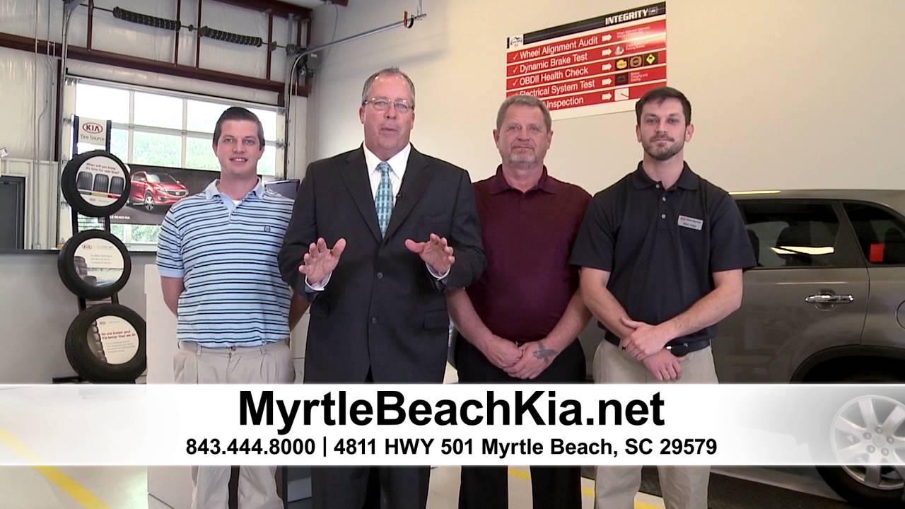 Myrtle Beach Kia Service Department   YouTube