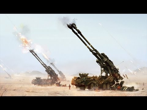 TOP 10 MOST DEVASTATING SELF PROPELLED ARTILLERY 2017