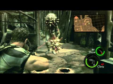 Let's Fail at Resident Evil 5 Part 20: Meeting the Tribal Chief
