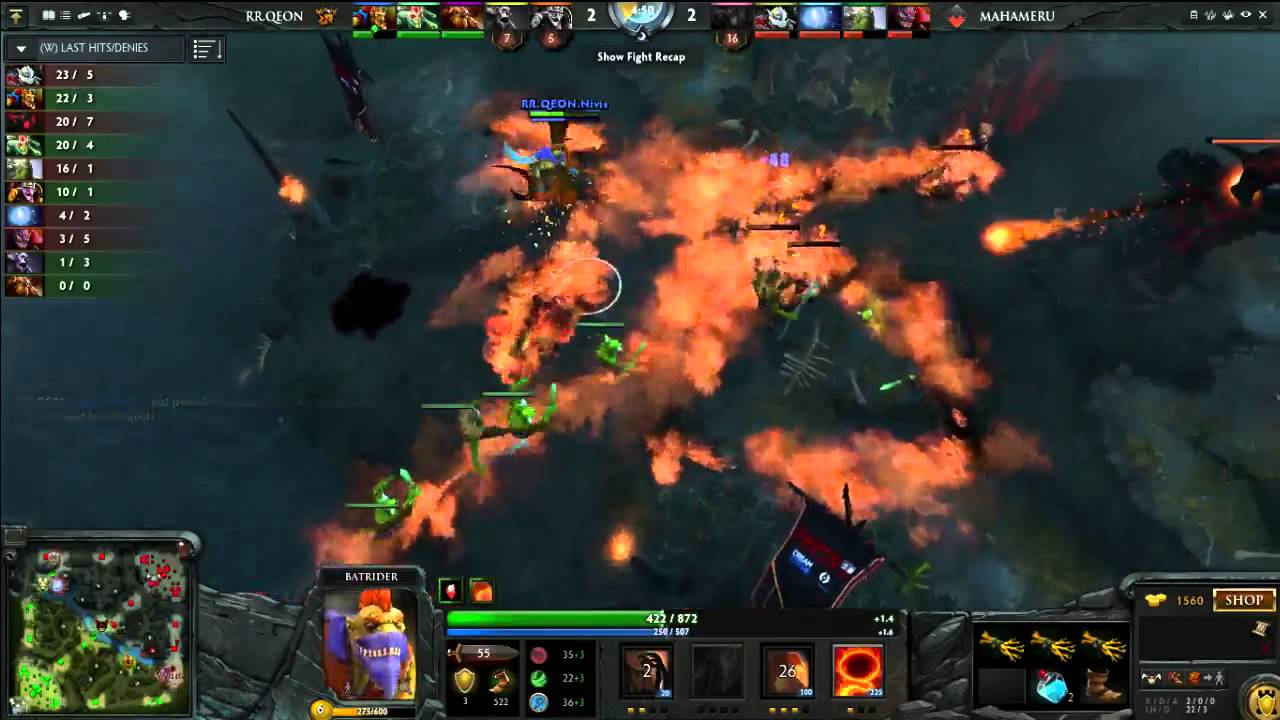 rex regum qeon vs mahameru id the live gaming dota 2 tournament