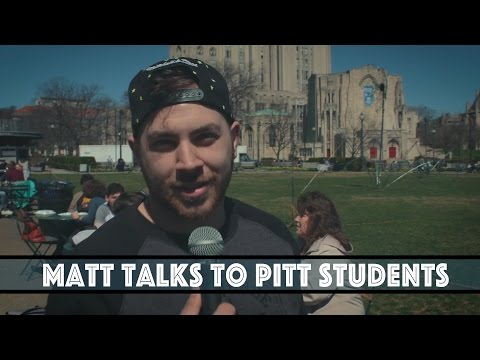 Matt Talks to Pitt Students - University of Pittsburgh - Matt For Mayor