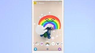 Cómo usar los nuevos filtros 3D de Snapchat