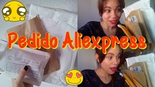¡ Unboxing pedido aliexpress!  | Happylonga