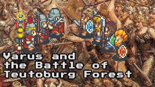 Varus and the Battle of Teutoburg Forest - Pixel History
