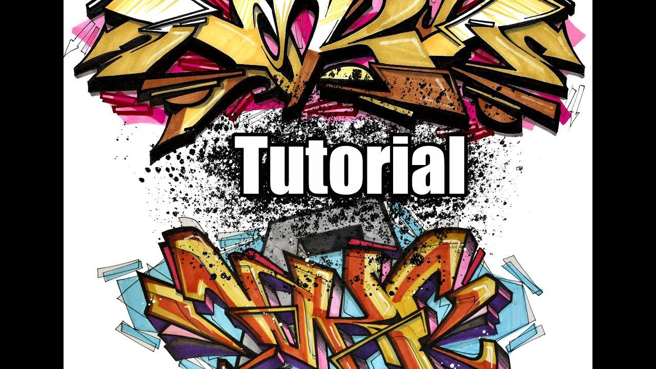 how to make graffiti art